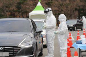 Coronavirus in korea drive thru