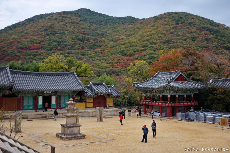 Buddhist temple Korea