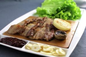pork meet food korea