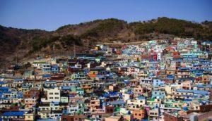 пусан деревня камчхон