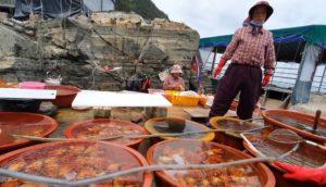 пусан свежие морепродукты