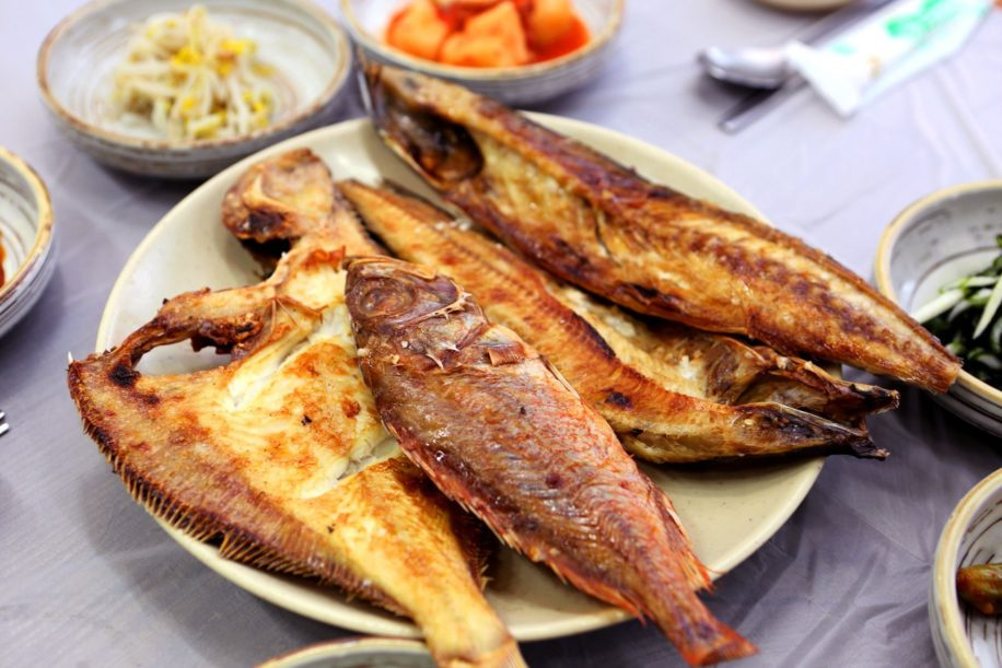 korean food fish